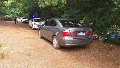 Vehículo utilizado para escapar de asalto fue robado en Brasil