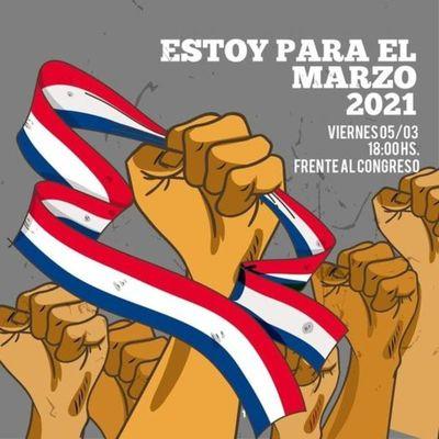 """Ciudadanos se autoconvocan y hablan de un posible nuevo """"Marzo Paraguayo"""""""