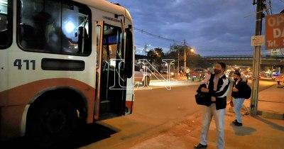 La Nación / Concejal de Asunción recomienda liberar itinerarios ante amenaza de paro de Cetrapam