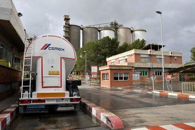 Cemex participa en la obra de la presa del Cañón de Santolea de España