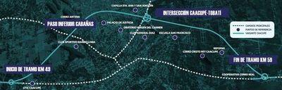APP de ruta PY02: MOPC ordenó el inicio de las obras de la circunvalación de Caacupé