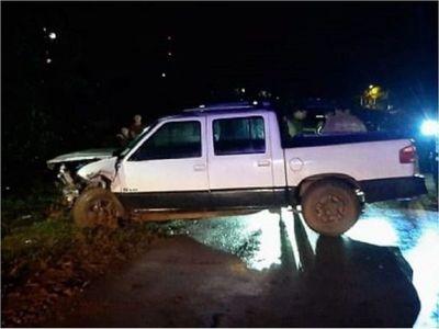 Cinco heridos durante accidente de tránsito en Itapúa