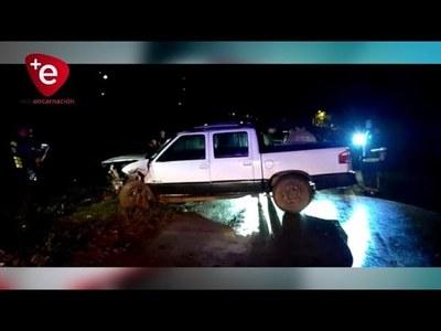 CINCO HERIDOS TRAS ACCIDENTE EN EDELIRA 20