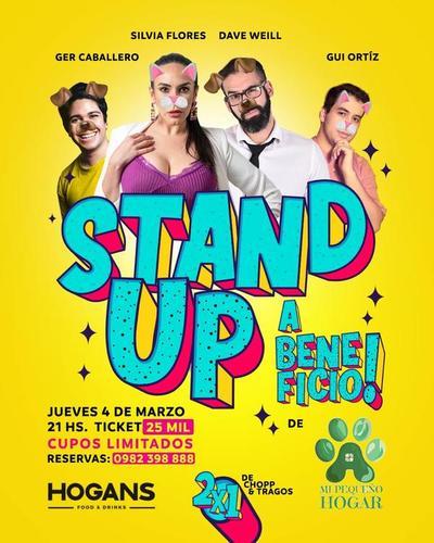 En beneficio de animales en situación de calle Silvia Flores encabeza Stand Up este jueves