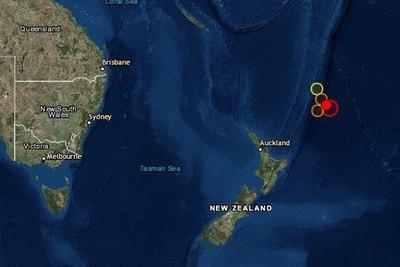 Retiran alerta de tsunami por un terremoto de magnitud 7,3 en Nueva Zelanda
