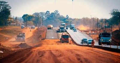 La Nación / El MOPC dio orden de inicio de obras en tramo de la ruta PY02