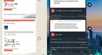 Crónica / Profesor ndaje vendía ¡exámenes de ingreso!