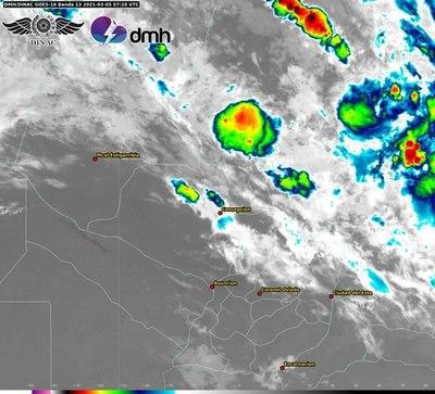 Lluvias y tormentas persistirán en el Norte