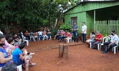 Wiens con variadas reuniones acompañando a precandidatos a concejales