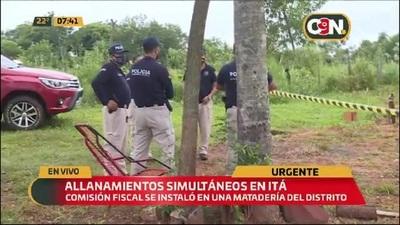 Caso Dahiana Espinoza: Excavan terreno de matadería en Itá