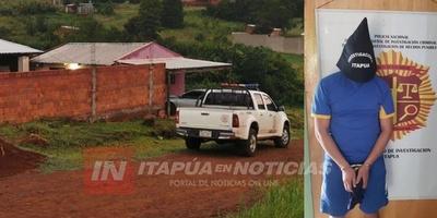 ALLANAMIENTO CON DETENCIÓN EN ARROYO PORÃ TRAS MILLONARIO HURTO EN CONVENTO DE GUAIRÁ.
