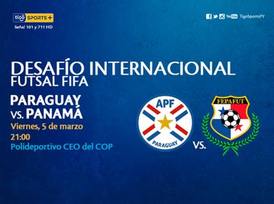 Paraguay mide a Panamá en juego amistoso