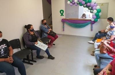 Centro Integral de la Mujer de Caazapá se estrena con 18 mamografías realizadas en un día