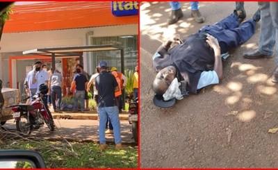 Asalto a empleados de distribuidora deja dos heridos