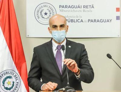 Ministro de Salud Pública presenta su renuncia al cargo