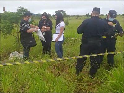Encontraron el cuerpito de una recién nacida en Pedro Juan