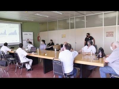 CENTRO DE OPERACIONES DE EMERGENCIA (COE) SE REUNIÓ EN LA GOBERNACIÓN DE ITAPÚA