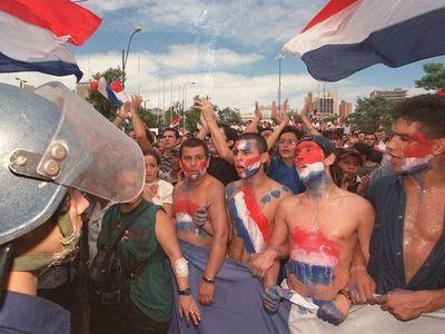 La violenta historia del primer Marzo Paraguayo
