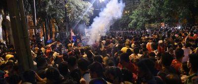 Repudian represión policial contra la ciudadanía