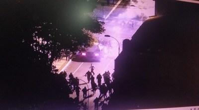 Incidentes en la movilización: reportan corridas y enfrentamientos con policías
