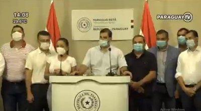 Desconvocan a 'contramarcha' a favor de Mario Abdo