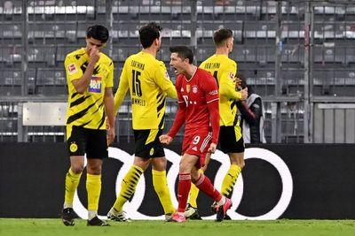 Triplete de Lewandowski en la remontada del Bayern Munich