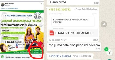 La Nación / UNA anula pruebas de ingreso a Economía tras supuesta venta de exámenes