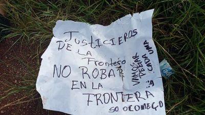 JUSTICIEROS DE FRONTERA VUELVEN A APARECER Y MATAN A SUPUESTO LADRÓN