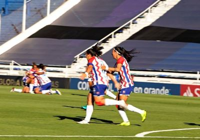 Libertad-Limpeño goleó en el estreno de la Libertadores