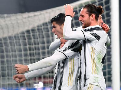 Morata encabeza la remontada de la Juventus