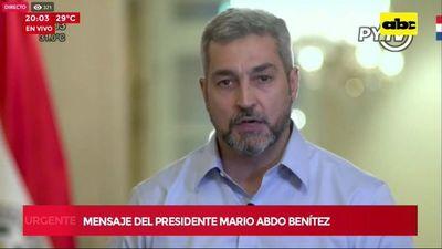 Abdo saca a Petta, Villamayor y Romero buscando aplacar ira ciudadana
