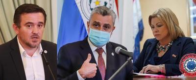 Tras presión ciudadana, Abdo destituye Petta, Villamayor y Romero