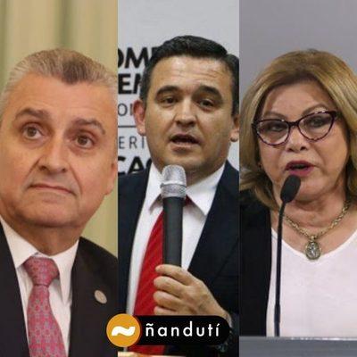 Se van Villamayor, Petta y Nilda Romero, anuncia Abdo