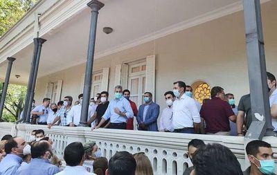 Los seccionaleros reculan en la contramarcha pro-Marito
