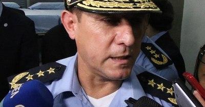 """La Nación / Comandante pidió a la FOPE hacer """"una tregua"""" con los manifestantes"""