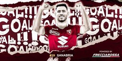 Un derechazo al ángulo: Debut goleador de Sanabria en el Torino