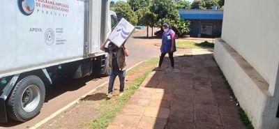 Entregan otras 700 dosis de vacunas antiCovid para Alto Paraná
