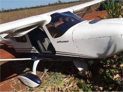 Avioneta realizó aterrizaje forzoso en Santa Rita, el piloto no fue encontrado