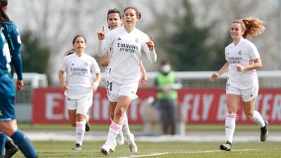 Jessica Martínez se anota con creces en la goleada del Real Madrid