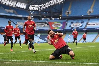 Manchester se tiñó de rojo: El United derrotó al City y le cortó la racha