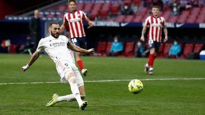 Real Madrid rescató un agónico punto ante el Atlético en el derbi