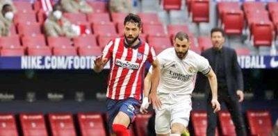 El derby de Madrid terminó igualado
