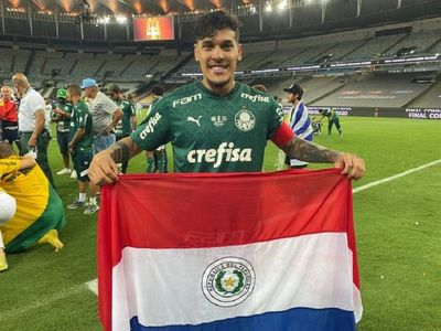 Gustavo Gómez, nuevamente campeón en Brasil