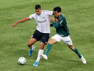 Gustavo Gómez logra otro título con el Palmeiras