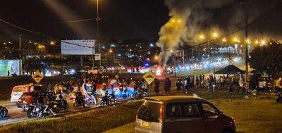 Tercera jornada de protestas en el Este