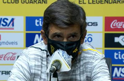 """Gustavo Costas: """"Jugamos un partido muy malo"""""""