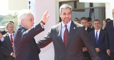 La Nación / Abdo agradeció al presidente Piñera