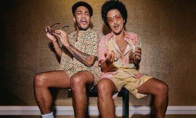 Bruno Mars lanza adelanto de su disco con Anderson Paak