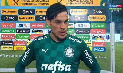 """¡Gómez, rey de copas con Palmeiras! """"Mis pensamientos están con el pueblo paraguayo"""""""