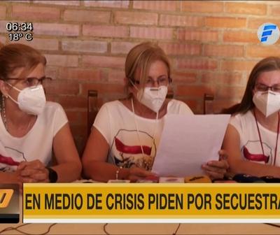 Hijas de Óscar Denis claman por liberación de secuestrados